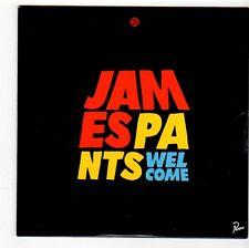 (FS186) James Pants, Welcome - 2001 unopened DJ CD