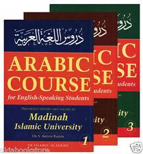 Arabic Curso para habla inglesa Estudiantes: 3 Conjuntos De Volúmenes