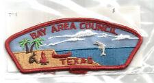 BAY AREA T-1 CSP MINT Vintage TX Boy Scout Mgd Council Patch- Plain B