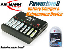 Ansmann Powerline 8 - 8 cell Auto Quick Charger/Discharger/Tester NiMH NiCd