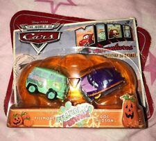 New Disney Cars 1 Mini Adventures Holiday Special Pumpkin Doc Hudson & Fillmore