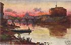 Italie - ROMA - Castel S. Angelo e S. Pietro