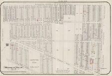 1913, CHARLES E. GOAD, MONTREAL, CANADA, TRENHOLME PARK, COPY PLAT ATLAS MAP