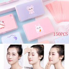 150 Sheets/Box Cute Oil Control Oil-Absorbing Blotting Kawaii Face Clean Paper.