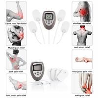 Électrostimulateur 4 Électrodes Anti Douleur Anti Fatigue Détend Muscles Corps