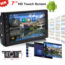"""7"""" Android 6.0 Double 2 Din Car Stereo GPS Navigation NO DVD Player BT Radio SE"""