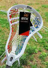 STX Super Power Plus ACP Lacrosse Head Strung w/ Mid Pocket.