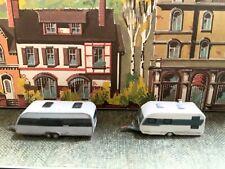 Suitable Marklin spur z scale/gauge. 2 Touring Caravans.