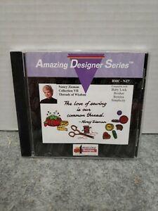 Amazing Designer Series Nancy Zieman collection VII Threads of Wisdoms BMC-NZ7