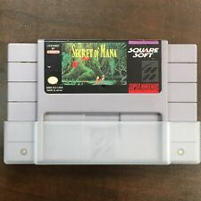 Secret of Mana (Super Nintendo SNES, 1993) Authentic, Tested (Cartridge Only)