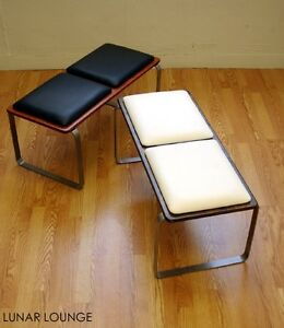 PLY BAK BENCH 2  Mid century Modern Bench  Eames era Many color options avail.