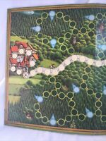ENCHANTED FOREST Board Game 1994 Replacement Parts Just The Board  Ravensburger