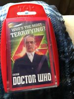 Doctor Who Top Trumps card game - 'Who's The Most Terrifying?' NEW