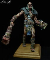 Mantic Kings of War Giant+ Snow Giant 19cm model like Warhammer - Well Painted