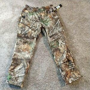 Under Armour Men's BROW TINE Realtree Edge Camo LG Fleece Hunt Pants