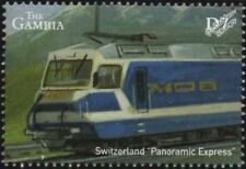 Montreux-Oberland Bahn (MOB Switzerland) Class Ge4/4 Electric Train Stamp