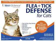 Vetri-Science Flea + Tick Defense For Cats, 8 Weeks+, 3 Doses