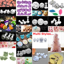 DIY Cookies Plunger Cutter Fondant Cake Decorating Biscuit Sugarcraft Mold Too:D