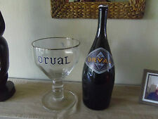 Jeroboam bouteille 3L ORVAL Neuve Brasserie Abbaye Trappiste Bière belge. Vide.