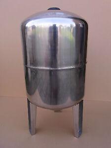 80 l Druckkessel Druckbehälter Membrankessel Hauswasserwerk 100 Edelstahl STVT