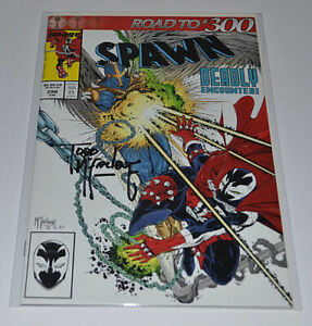 SPAWN #298 Signed by TODD McFARLANE Autographed Upcoming Movie!