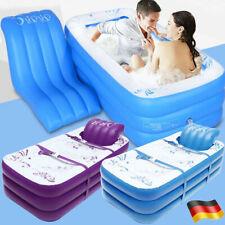 Aufblasbare Badewanne Indoor Outdoor SPA Aufblasbar Luft Faltbar Umwelt PVC