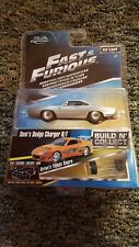 Jada Fast & Furious Diecast 1/55 Scale Dom's Dodge Charger R/T Diecast Car .