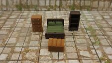 Bedroom Set x 2- 28mm Miniature Roleplaying and Wargaming