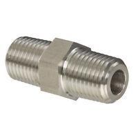3000 PSI Max Pressure HFS 1//4SAE FEMALE x 96 R High Pressure Braided Stainless Steel Chemical Hose
