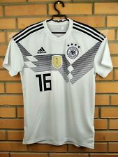 Germany soccer jersey medium 2018 shirt home BR7843 football Adidas