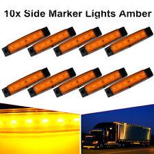 10X 12V 6 LED Side Marker Indicators Lights Car Truck Trailer Light UBI Ship NEW
