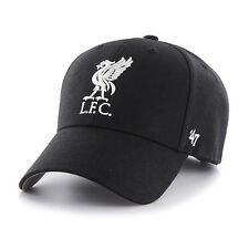47 BRAND NEW Mens Black EPL Liverpool FC MVP Cap BNWT