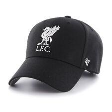 47 BRAND NEW Mens Black EPL Liverpool FC MVP Cap BNWT