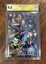 BatmanDetective Comics#1000 D.C. Comic 5/19 Signed By Mike Mayhew Twice & Sketch