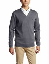 Fred Perry Wool Blend No Pattern Jumpers & Cardigans for Men