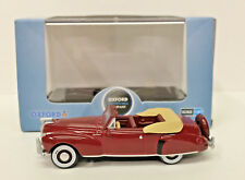 1:87 Lincoln Continental '41 Convertible - Maroon HO Oxford Diecast #41001 NEW