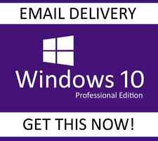 WINDOWS 10 PRO 32/64 BITS WIN 10 OEM GENUINE LICENSE ORIGINAL ACTIVATION KEY