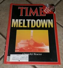 Time Magazine 1986, May 12, Meltdown: Chernobyl Reactor RUSSIA USSR UKRAINE old