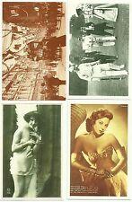 The Nostalgia Postcards x 4, UK Social History