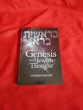 Genesis and jewish thought Chaim Navon Judaica Book