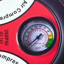 Tire Inflator Car Air Pump Compressor Electric Portable DC 12V 260 Psi Volt U1X3