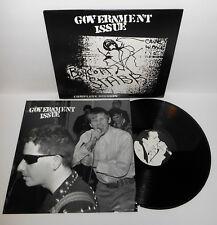 GOVERNMENT ISSUE boycott stabb complete LP Vinyl Record Ian minor threat fugazi