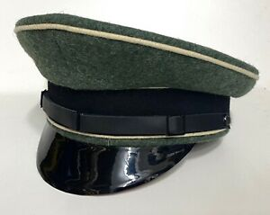 WWII Elite EM German Visor Hat