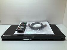 Sony BDP-BX58 3D Blu-Ray Disc & DVD Player WiFi (with OEM Remote) TESTED WORKS