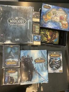 World of Warcraft WRATH OF THE LICH KING -100% COMPLETE Collector Edition - USED