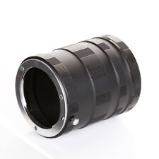 Macro Extension Tube 3 Ring for Panasonic Olympus Micro M 4/3 four third Camera