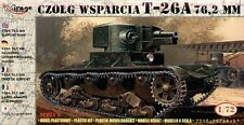 Mirage 1/72 Russian T-26A 7,62mm Support Tank # 72610