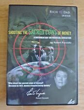 RICH DAD Shooting the Sacred Cows of Money DVD by Robert Kiyosaki