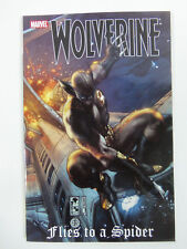 Wolverine Flies to a Spider Marvel Comics Softcover Paperback
