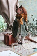 Teddy Handmade Interior Toy Collectable Gift Animal OOAK Horse Coat Doll Decor